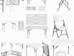 Складная пластиковая мебель