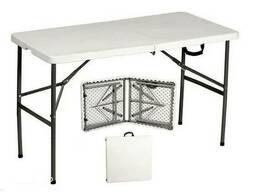 Складные столы-чемоданы Д 1240 * Ш 610 * В 740 * 45 мм