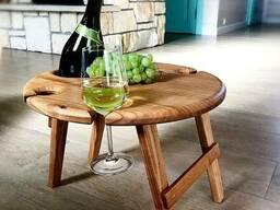 Складные винные столики и столики для пикника. - фото 2
