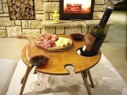 Складные винные столики и столики для пикника. - фото 4
