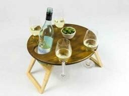 Складные винные столики и столики для пикника. - фото 5