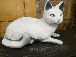 "Скульптура ""Кот лежащий "" бетон"