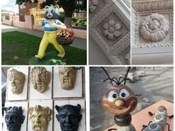 Скульптуры из бетона ручной работы