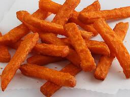 Сладкий картофель фри (Батат) 11*11мм Новинка!!!. Lambweston