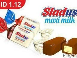 Конфеты с молочной начинкойSladus Maxi Milk