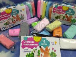 Слип - пак Genio Kids: Набор для детской лепки 36 элементов Легкий пластилин. ..