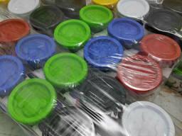 Слип - пак Genio Kids: Набор для детской лепки со штампами ТА1009ВР Тесто-пластилин 6. ..