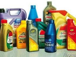 Смазки и жидкости для автомобилей.