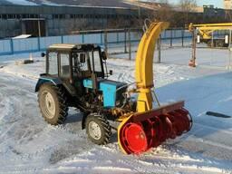 Снегоочиститель фрезерно-роторный СНР-200 к трактору МТЗ