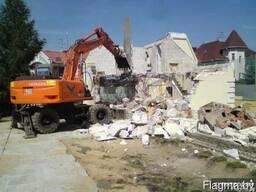 Снос домов и демонтажные работы