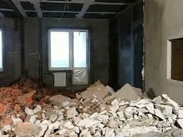 Снос ветхих строений, демонтаж фундаментов, стяжек пола