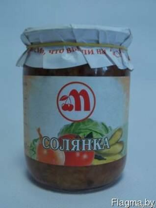 Солянка из свежей капусты 0,5 л