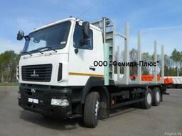 Сортиментовоз лесовоз МАЗ-6312С9-1526-020 KESLA/Майман-2018