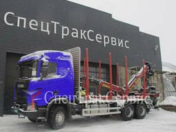 Сортиментовоз Scania R500 иTajfun-Liv