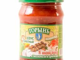 Соус томатный к шашлыку с чесноком и грибами 0,32л. /320гр.