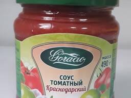 Соус томатный Краснодарский стерилиз. 0,45л. /490гр.