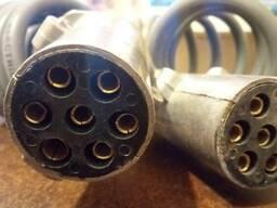 a697aa6b9806 Спиральный кабель подключения прицепа полуприцепа для тягача
