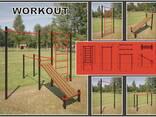 Спортивная площадки Workout - фото 1