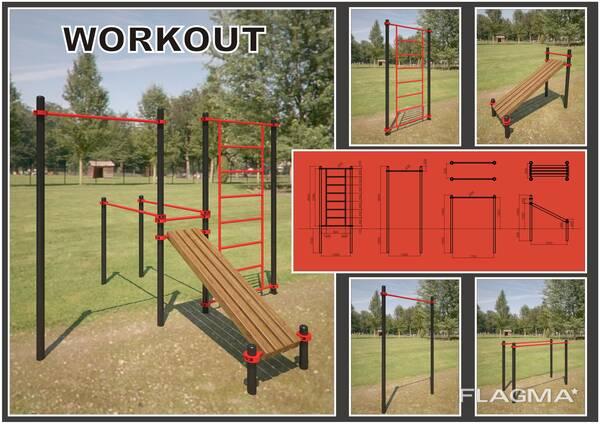 Спортивная площадки Workout