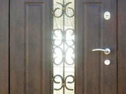 Стальная Дверь Витраж-2