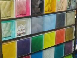 Стеклоблок матовый цветной