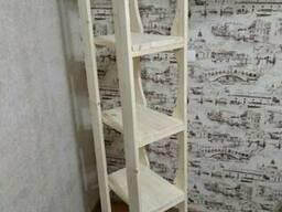Стелаж деревянный - фото 2