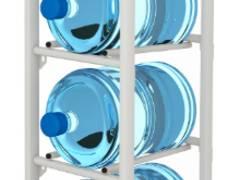 Стеллаж для бутылей с водой арбург-4