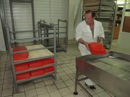 Стеллаж-контейнер из AISI304 для сушки полок для сыра