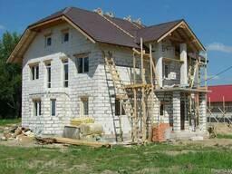 Строительство домов из блоков под ключ в Любанском р-не
