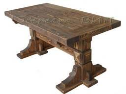 Стол деревянный под старину для кафе, бара, бани Волот