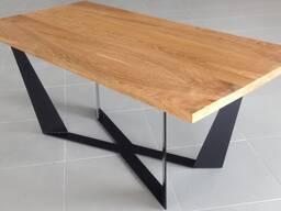 Стол обеденный дубовый (массив, масло) LOFT-003 (1800х900х750)