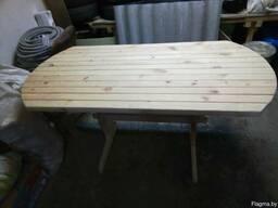 Стол деревянный , массив сосна.