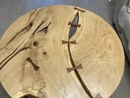 Стол из слэба дуба, ясеня, вяза, клёна, груши, липы. ..