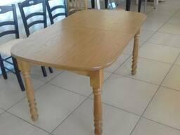 Стол обеденный раздвижной из массива
