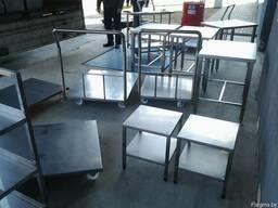Площадка для обслуживания, подставки технологическ, рамы нержа