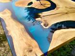 Стол-река, эксклюзивные слэбы, изготовление под заказ - фото 1