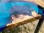 Стол-река, эксклюзивные слэбы, изготовление под заказ - фото 5