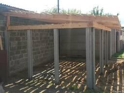 Столбики для забора из бетона купить в бресте заказать бетон в химках с доставкой
