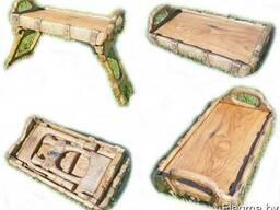 Столик для завтраков из массива Дуба.