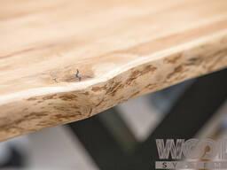 Столы и столешницы из цельноламельного массива дуба 120*80