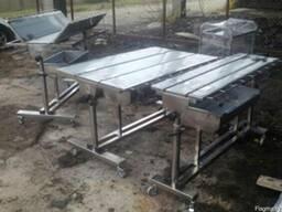 Столы ветеринарные из нержавеющей стали