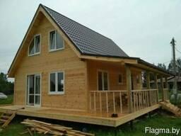 Строительство каркасных домов. Качественно. По всей РБ.