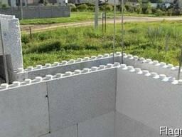 Строительные стеновые блоки несъемной опалубки. - фото 2