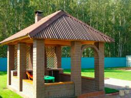 Строительство беседок, деревянных конструкций