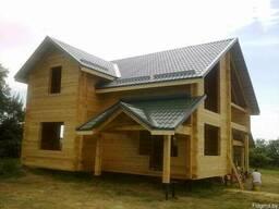 Строительство деревянных домов, бань.