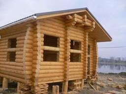 Строительство деревянных домов, бани из кедра, лиственницы