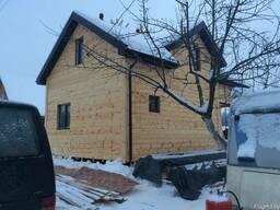 Строительство деревянных домов, дома из бруса, каркасный дом
