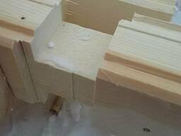 Строительство деревянных домов из бруса профилированного