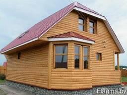 Строительство домов,бань,хоз.построek