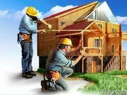 Строительство домов, коттеджей под ключ.